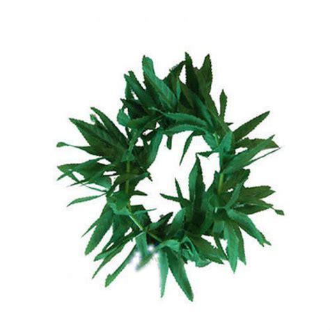 Leaf Hairband green leaf hawaiian jungle tribal headband costume world