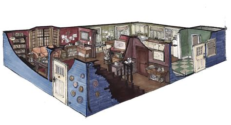 Two And A Half Men House Floor Plan bobby s home by lamapan on deviantart