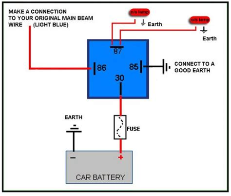 nc 4 pin relay wiring diagram wiring diagram with