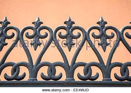 Decorative Quarter by New Orleans Louisiana Decorative Cast Iron Grillwork On