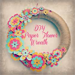 easy diy paper flower wreath sweet lil you diy rolling paper colorful butterfly crafts home decor