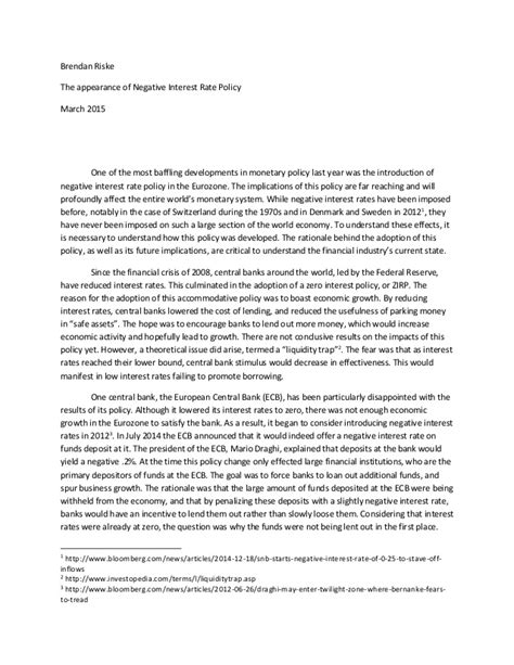 Monetary Policy Essay by Monetary Policy Essay Monetary Policy And Stock Market Booms And Busts In The Th Monetary Policy