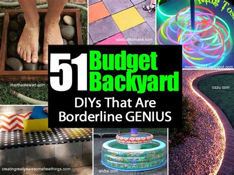 cheap diy backyard projects 51 budget backyard diy projects that are borderline genius