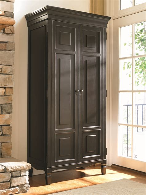 tall armoire furniture universal summer hill tall cabinet in midnight 988160