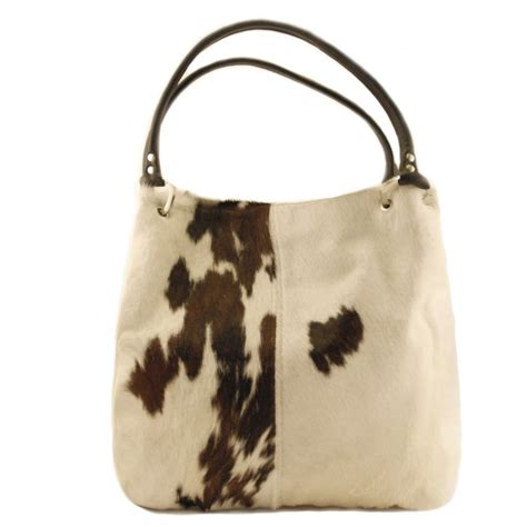 Cow Skin Bag Cow Hide Hair On Handbag By