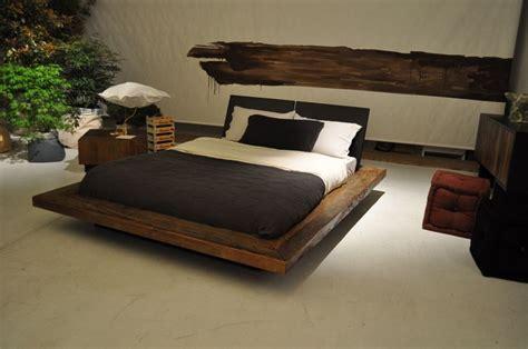 camere da letto in legno naturale letti design tante idee originali da mille e una notte