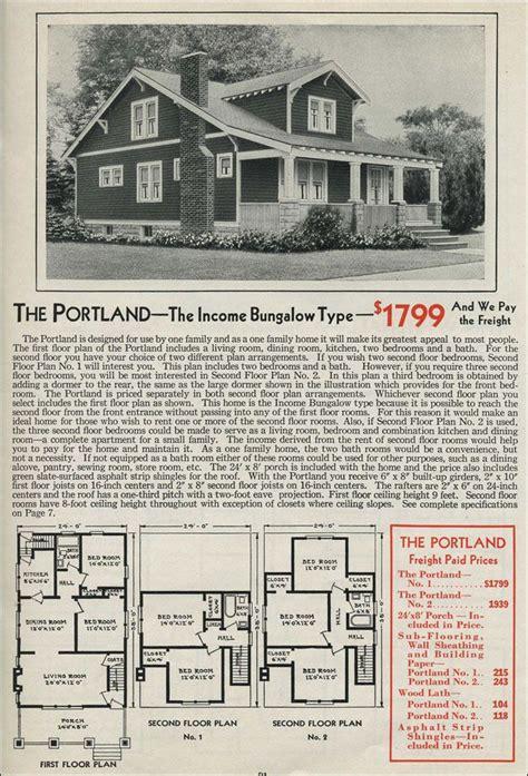 1931 kit home aladdin bungalow the carlton 67 best craftsman vintage house plans images on pinterest