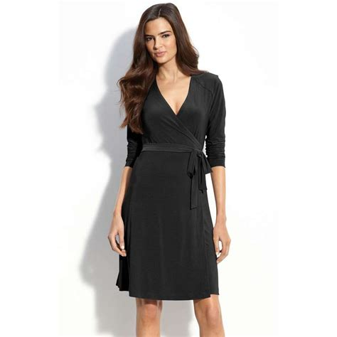 Wrap Dress - black wrap dress picture collection dressed up
