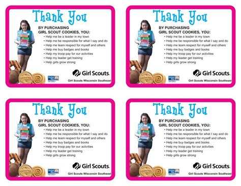 scout thank you card template pin by kocsis burg on scouts