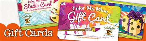 Color Me Mine Gift Card - welcome to color me mine the paint your own pottery studios