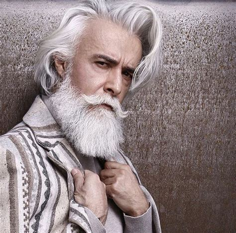 grey hair and beard and tattoos men pinterest beards pin by steven nash on great beards staches hair