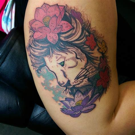 lotus tattoo with lion 84 elegant and artistic lotus tattoo ideas for women