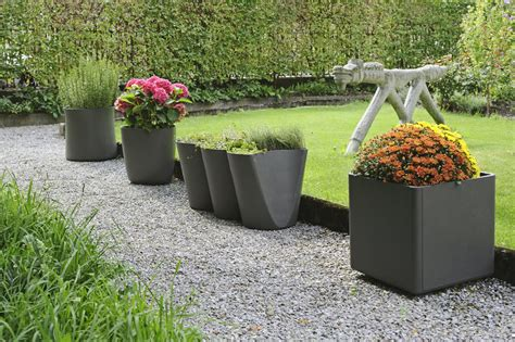 Nursery Planters by Outdoor Planters And Urns Design For The Garden A