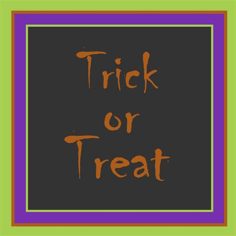 Trick Or Treat 3 by Free Clipart N Images September 2012