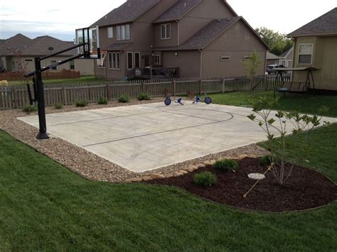 Backyard Basketball Court Ideas Best 25 Backyard Basketball Court Ideas On Pinterest Backyard Basketball Outdoor Basketball