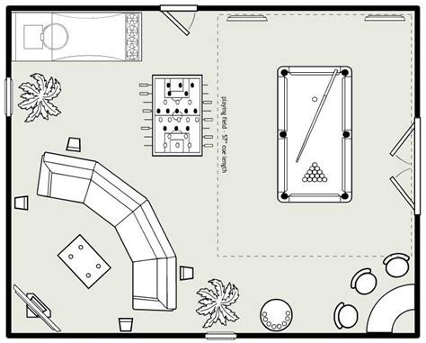game room floor plans universal billiards game room design 101 layout