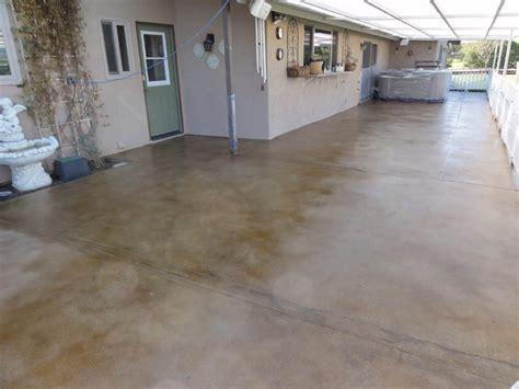 Pristine Concrete Paso Robles CA Stained concrete Patios
