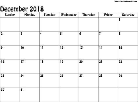 Blank 2018 Calendar Weekly Calendar Template Blank Calendar Template