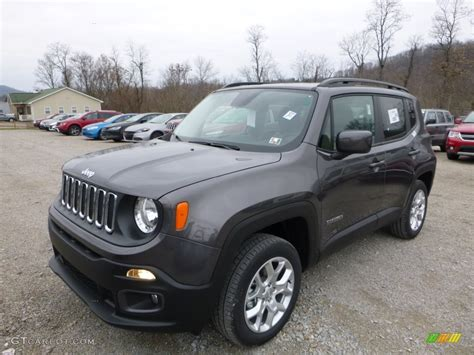 2016 granite metallic jeep renegade latitude 4x4