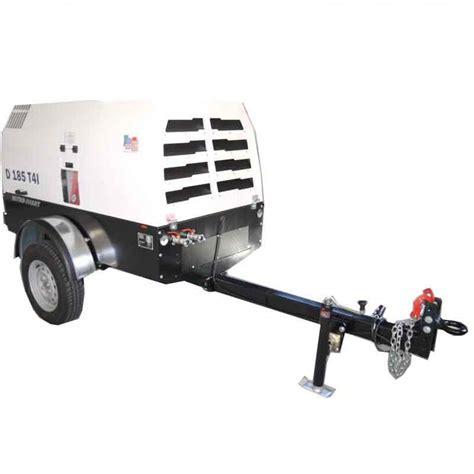 rotair dtf  cfm portable  hp diesel powered