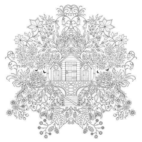 secret garden coloring book books a million secret garden by johanna basford published by laurence