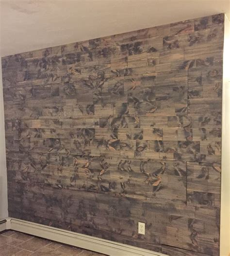 reclaimed wood accent wall how to a reclaimed wood wall