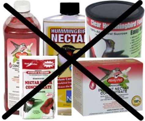make hummingbird food nectar stop buying it