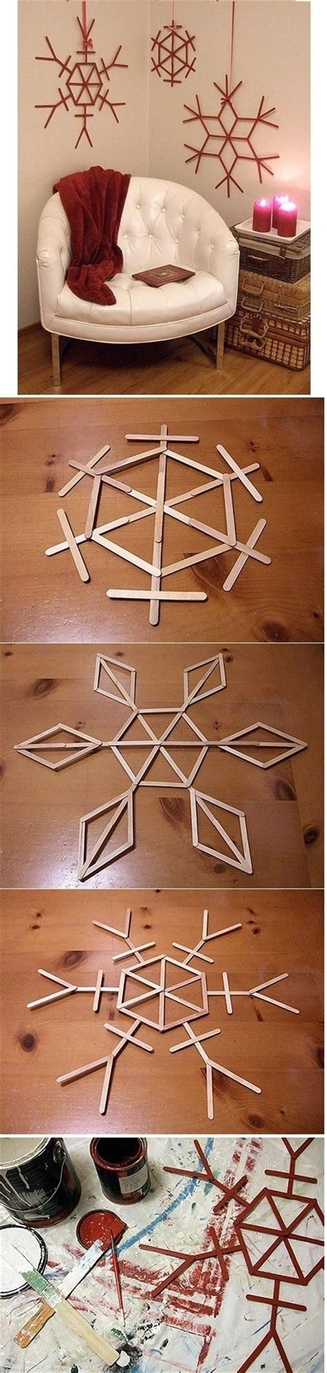 christmas craft for younsters diy snowflake decor pictures photos and images for and