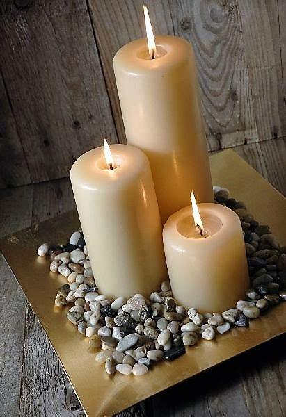Mesas De Salon De Cristal #5: White-romantic-candles-photos.jpg