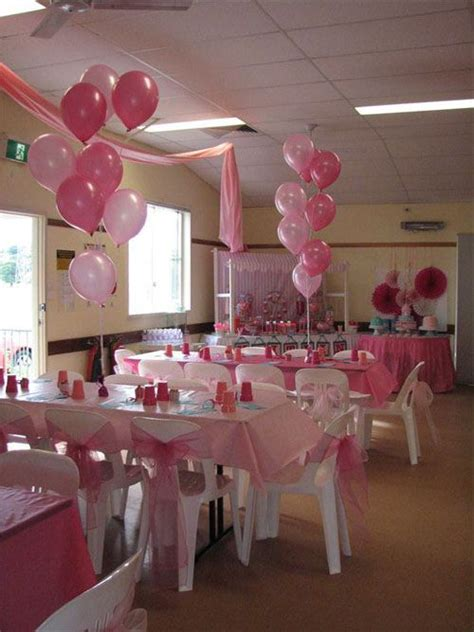 Showers Event Room by Room Set Up For Pink Baby Shower Baby Shower Decorations