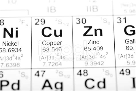 cu tavola periodica periodic table element copper stock photos freeimages