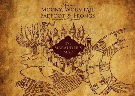 harry potter marauders map hey i found this really awesome etsy listing at https www etsy listing 171512369 the