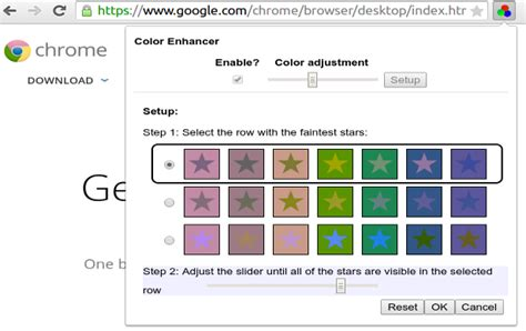 Third Eye Blind Faster Chrome Accessibility Options With Better Colors And Contrast