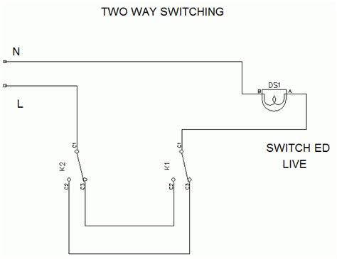 one switch two light bulbs electronics forums
