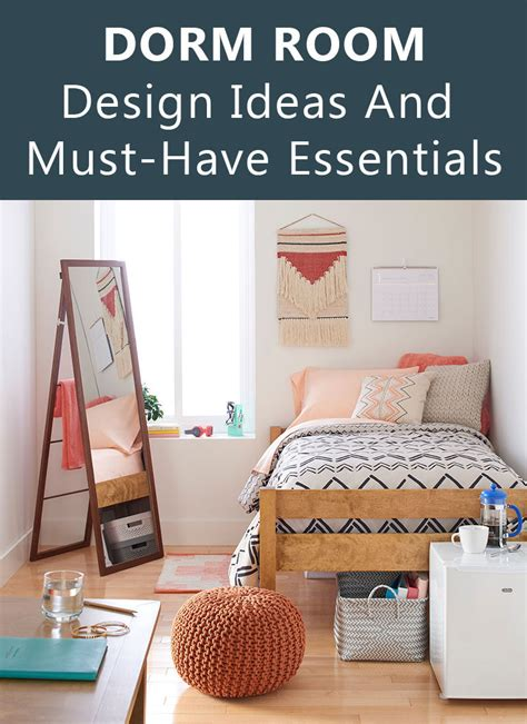 Dorm Room Ideas And Must Have Essentials The Natural | dorm room design must have essentials decor ideas