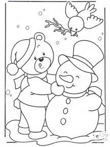 winter coloring pages winter coloring pages easy winter coloring pages