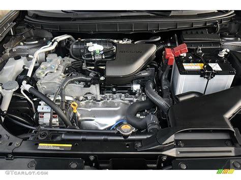 nissan rogue 2 5 engine 2013 nissan rogue sv 2 5 liter dohc 16 valve cvtcs 4