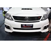 Toyota Fortuner TRD Sportivo At 2014 Bangkok Motor Show
