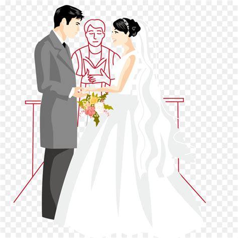 Wedding invitation Marriage Bridegroom Illustration ... Free Clipart Bride Silhouette