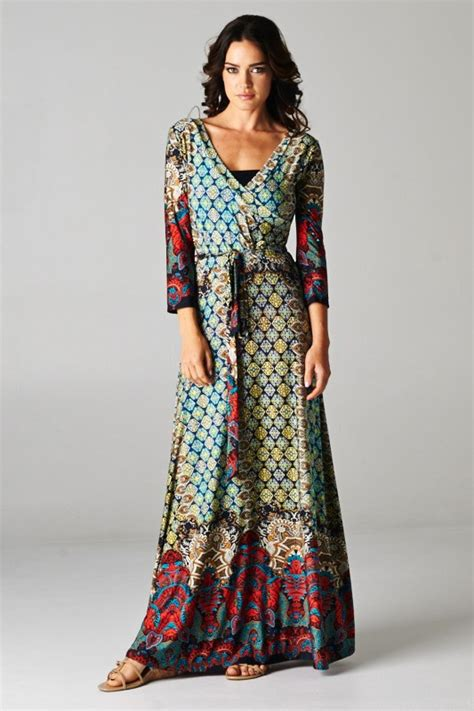 boho maxi dress 09 trendy boho vintage bohemian clothing