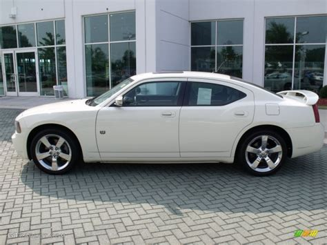 white 2008 dodge charger dub edition exterior photo
