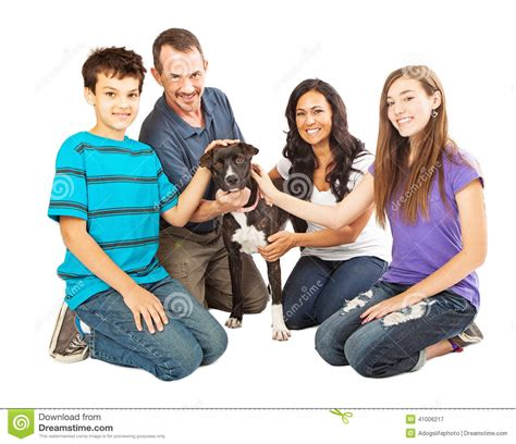 family rescue happy family with rescue stock photo image 41006217