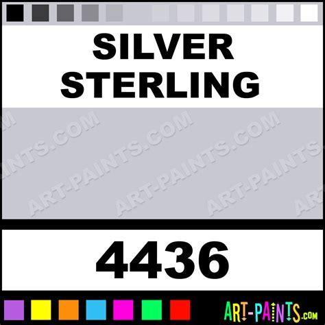 sterling color silver sterling colors fabric textile paints 4436