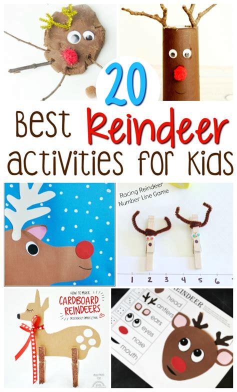 best crafts 20 best reindeer crafts and activities for