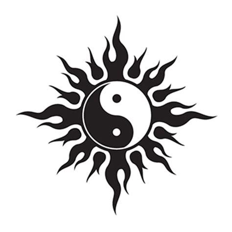 yin yang henna tattoo tribal yin yang temporary goimprints