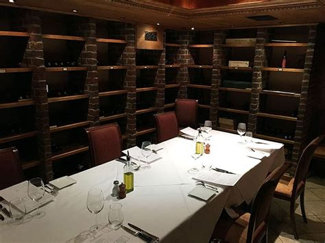 church turned into a wine cellar with 10 person dining room