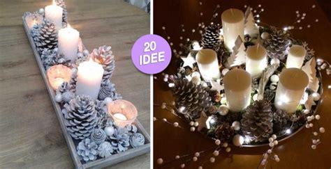 centro tavola natalizi fai da te bellissimi centrotavola natalizi fai da te 20 idee