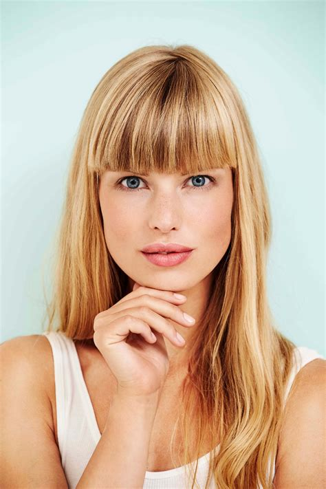 hairstyles blonde fringe simple hairstyles for straight hair perfect for everyday wear