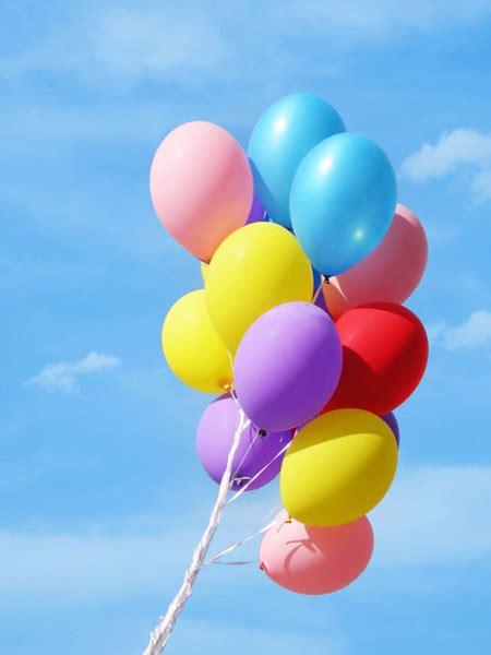 stanie sie  balonem wypelnionym helem gdy  puscimy