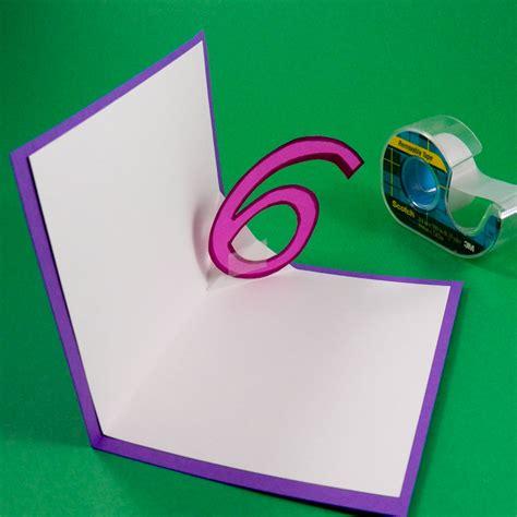 how to make av fold pop up card card idea v fold pop up birthday card tutorial